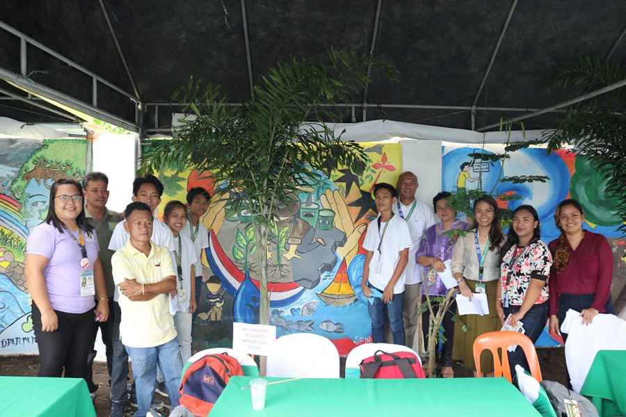 CENRO Sta. Cruz Mural Painting Winners